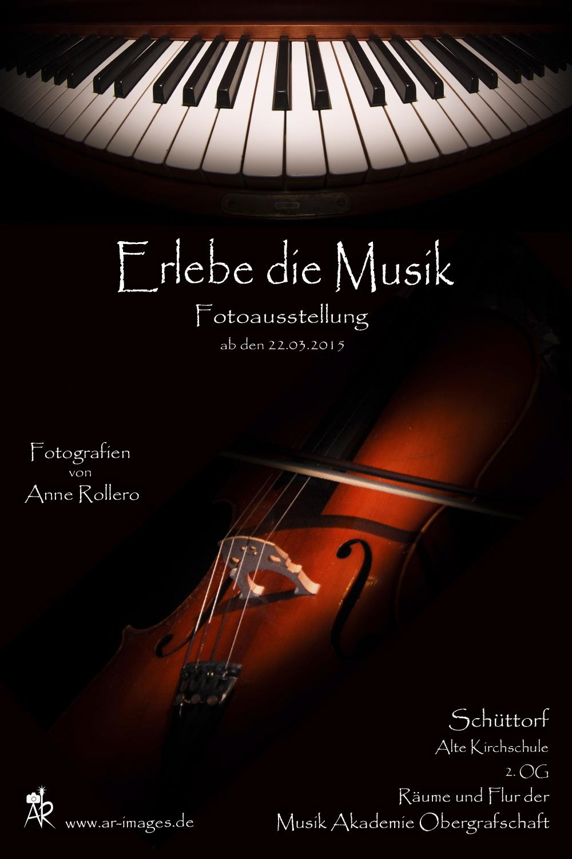 plakat Fotoausstellung Musik klein